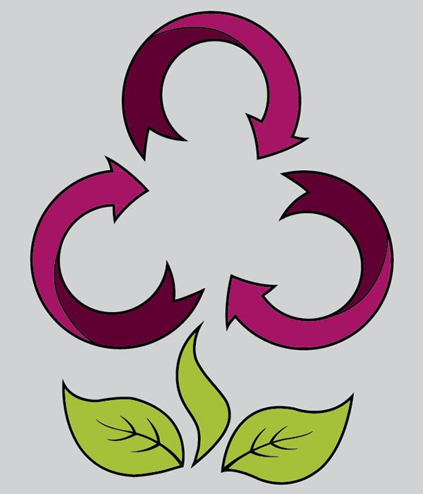 Kierrätyskeskuksen logo
